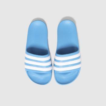 adidas Blue Adilette Aqua Boys Junior