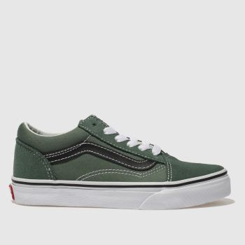 Vans Green Old Skool Boys Junior