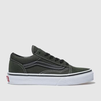 Vans Khaki Old Skool Boys Junior