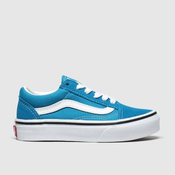 Vans Blue Old Skool Boys Junior