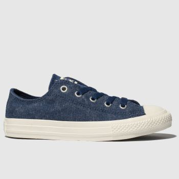 Converse Navy Chuck Taylor All Star Lo Boys Junior