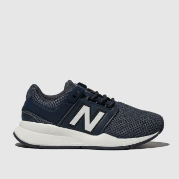 New Balance Navy & White 247 V2 Boys Junior
