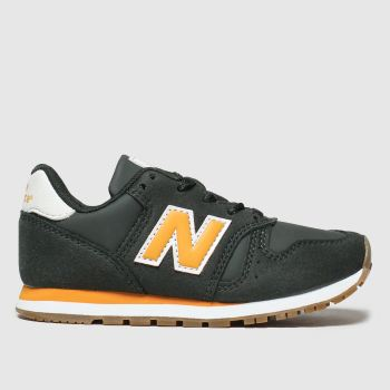 New Balance Dark Green 373 Boys Junior