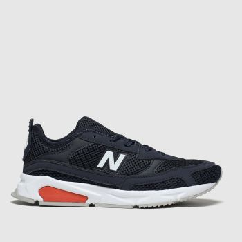 New Balance Navy & White X90 Racer Boys Junior