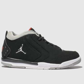 Nike Jordan Black & Silver Jordan Big Fund Boys Junior