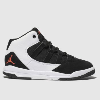 Nike Jordan White & Black Max Aura Boys Junior