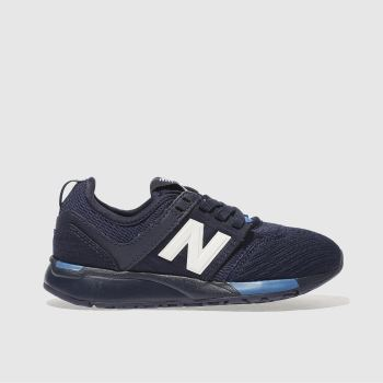 New Balance Navy 247 Boys Junior