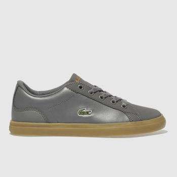 Lacoste Grey Lerond Boys Junior