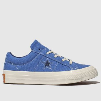 Converse Blue One Star Lo Boys Junior