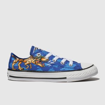 Converse Blue All Star Dino Lo Boys Junior