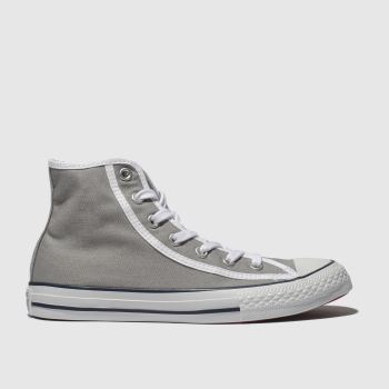 Converse Grey Gamer Hi Boys Junior