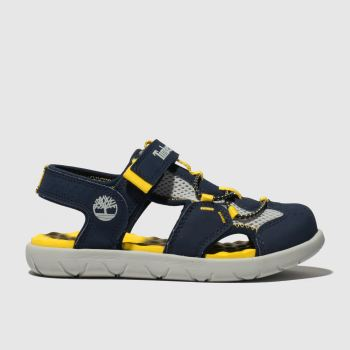 Timberland Navy Perkins Row Fisherman Boys Junior