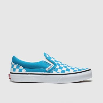 Vans Blue Classic Slip-on Boys Junior