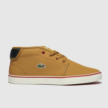 Lacoste Tan Ampthill Thermo Boys Junior