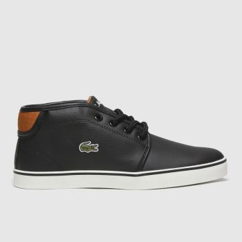 Lacoste Black Ampthill Jnr Boys Junior