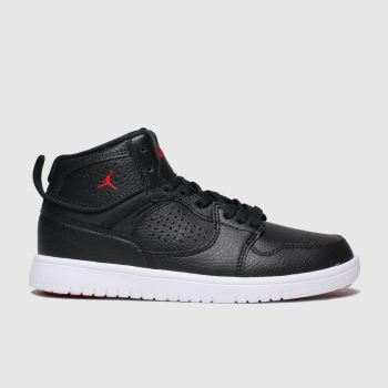 Nike Jordan Black & Red Jordan Access Boys Junior