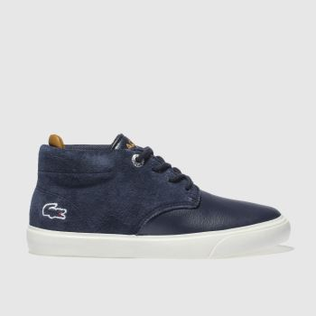 Lacoste Navy Esparre Chukka Boys Junior
