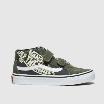 Vans Dark Green Sk8-Mid Reissue V Boys Junior