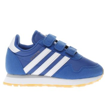 ADIDAS BLUE HAVEN BOYS JUNIOR TRAINERS