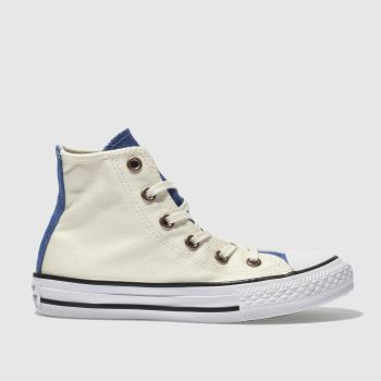 Converse Natural Chuck Taylor All Star Hi Boys Junior