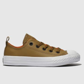 Converse Tan Chuck Taylor All Star Lo Boys Junior
