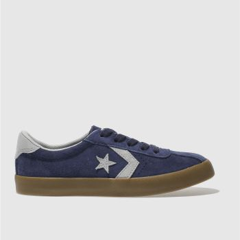 CONVERSE NAVY & GREY BREAKPOINT OX TRAINERS JUNIOR