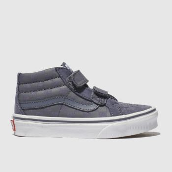 VANS BLUE SK8 MID REISSUE TRAINERS JUNIOR
