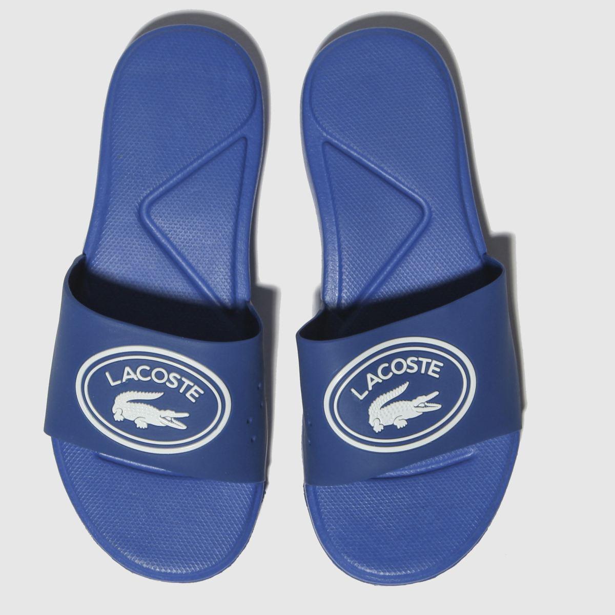 Lacoste Blue L.30 Slide Sandals Junior