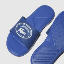 5010ce96f Boys blue lacoste l.30 slide trainers