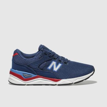 New Balance Blue X-90 Boys Junior