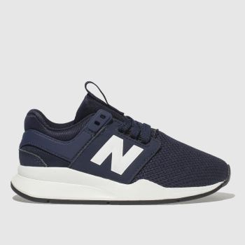 New Balance Navy & White 247 Boys Junior