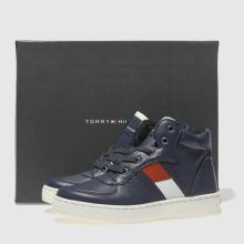 Tommy Hilfiger high top lace up sneaker 1