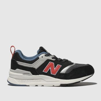 New Balance Black & Grey 997 Boys Junior
