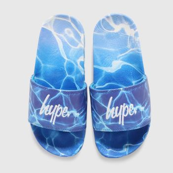 Hype Turquoise Pool Fade Boys Junior