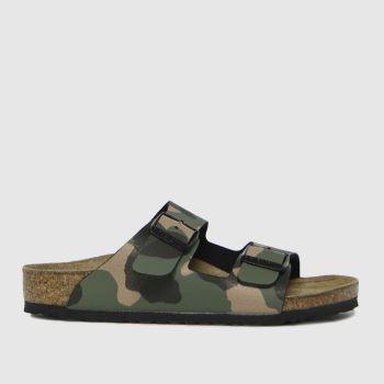 BIRKENSTOCK Khaki Arizona Boys Junior