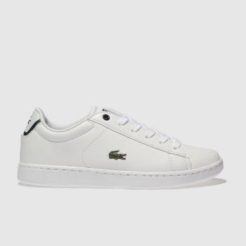 Lacoste White CARNABY EVO Boys Junior