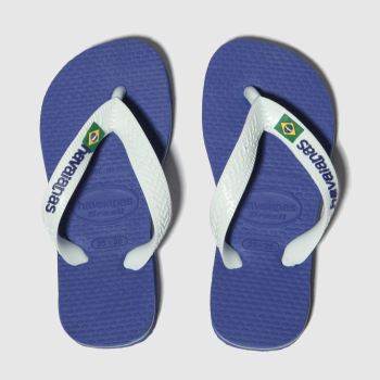 Havaianas Blue Brasil Logo Boys Junior