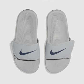 Nike Light Grey KAWA ADJUST Boys Junior