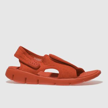 Nike Red SUNRAY ADJUST Boys Junior