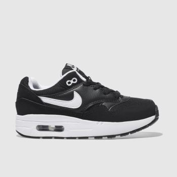 Nike Black Air Max 1 Boys Junior