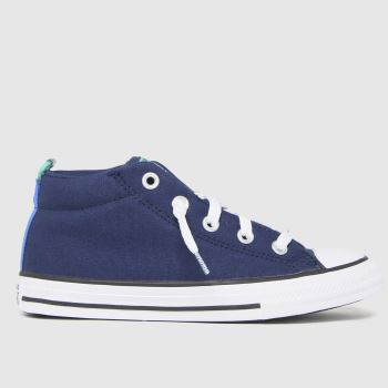 Converse Navy Street Mid Boys Junior
