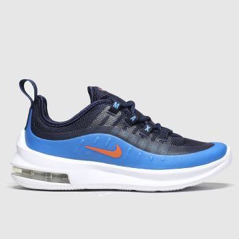 Nike Black and blue Air Max Axis Boys Junior