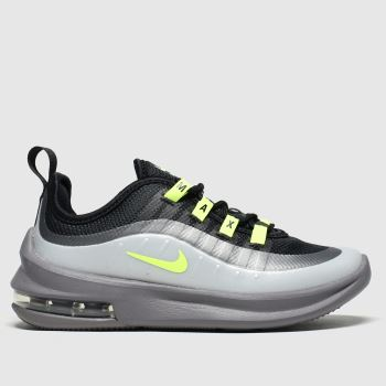 Nike Black & Grey Air Max Axis Boys Junior