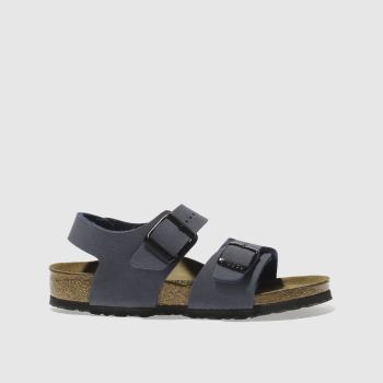 Birkenstock Navy New York c2namevalue::Boys Junior
