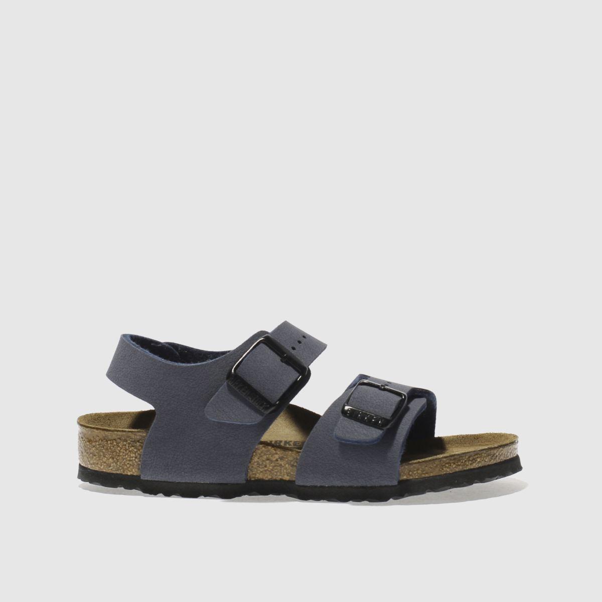 Birkenstock Navy New York Sandals Junior