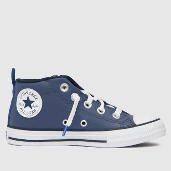 Converse Blue Street Color Pop Boys Junior