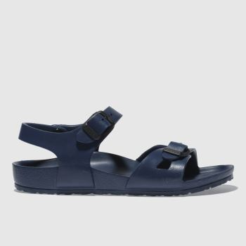 Birkenstock Navy Birk Rio Eva c2namevalue::Boys Junior