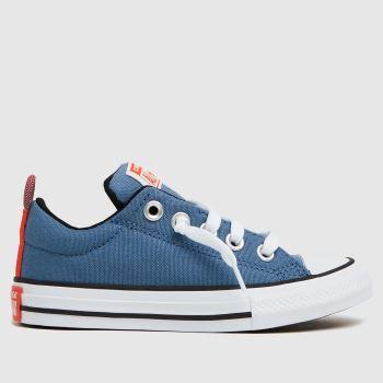 Converse Blue Street Slip Boys Junior
