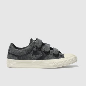 Converse Black Star Player 3V Boys Junior