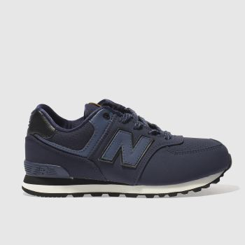 New Balance Navy 574 Boys Junior